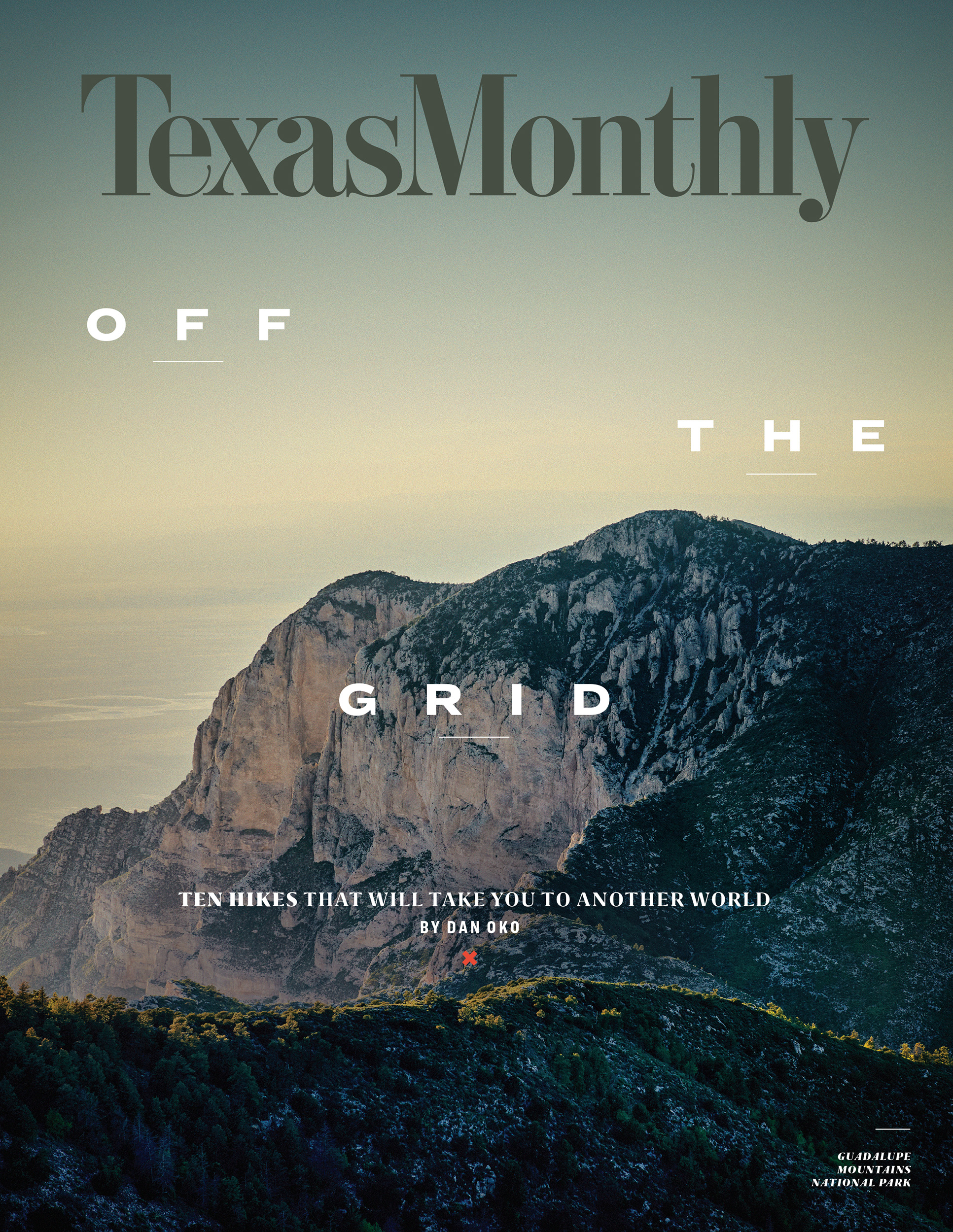 TexasMonthly_Cover_GuadalupeMountains_NickSimonite